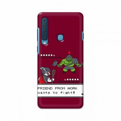Buy Samsung Galaxy A9 2018 Friend From Work Mobile Phone Covers Online at Craftingcrow.com