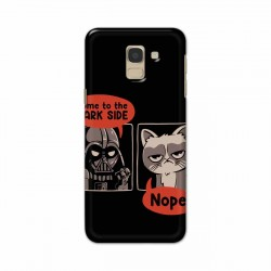 Buy Samsung Galaxy J6 2018 Not Coming to Dark Side Mobile Phone Covers Online at Craftingcrow.com