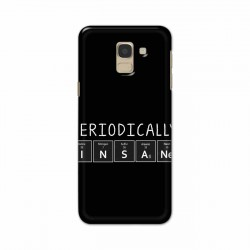 Buy Samsung Galaxy J6 2018 Periodically Insane Mobile Phone Covers Online at Craftingcrow.com