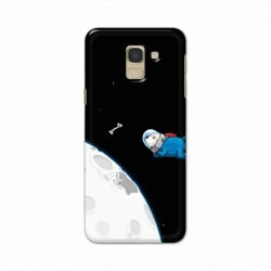 Buy Samsung Galaxy J6 2018 Space Doggy Mobile Phone Covers Online at Craftingcrow.com