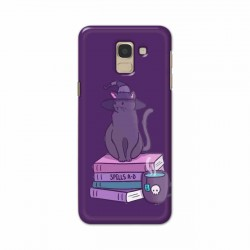 Buy Samsung Galaxy J6 2018 Spells Cats Mobile Phone Covers Online at Craftingcrow.com