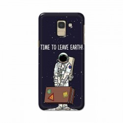 Buy Samsung Galaxy J6 2018 Time to Leave Earth Mobile Phone Covers Online at Craftingcrow.com