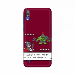 Buy Samsung Galaxy M10 Friend From Work Mobile Phone Covers Online at Craftingcrow.com