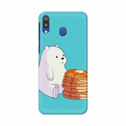 Buy Samsung Galaxy M20 Bear and Pan Cakes Mobile Phone Covers Online at Craftingcrow.com