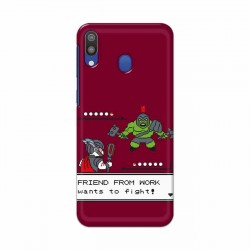 Buy Samsung Galaxy M20 Friend From Work Mobile Phone Covers Online at Craftingcrow.com