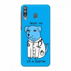 Buy Samsung Galaxy M30 I am Dogtor Mobile Phone Covers Online at Craftingcrow.com