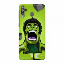 Buy Samsung Galaxy M30 Rage Hulk Mobile Phone Covers Online at Craftingcrow.com