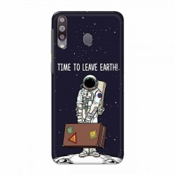 Buy Samsung Galaxy M30 Time to Leave Earth Mobile Phone Covers Online at Craftingcrow.com