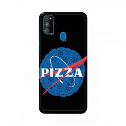 Buy Samsung Galaxy M30s Pizza Space Mobile Phone Covers Online at Craftingcrow.com