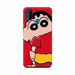 Buy Samsung Galaxy M30s Shin Chan Mobile Phone Covers Online at Craftingcrow.com