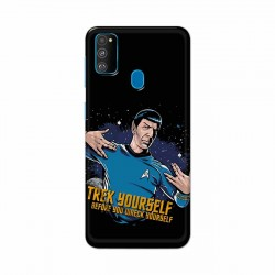 Buy Samsung Galaxy M30s Trek Yourslef Mobile Phone Covers Online at Craftingcrow.com