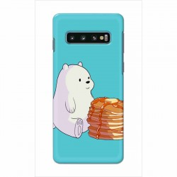Buy Samsung Galaxy S10 Plus Bear and Pan Cakes Mobile Phone Covers Online at Craftingcrow.com