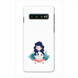 Buy Samsung Galaxy S10 Plus Busy Lady Mobile Phone Covers Online at Craftingcrow.com