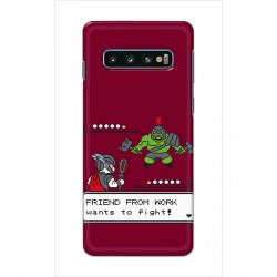 Buy Samsung Galaxy S10 Plus Friend From Work Mobile Phone Covers Online at Craftingcrow.com