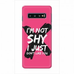 Buy Samsung Galaxy S10 Plus I am Not Shy Mobile Phone Covers Online at Craftingcrow.com