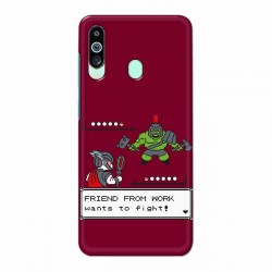 Buy Samsung M40 Friend From Work Mobile Phone Covers Online at Craftingcrow.com