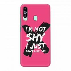 Buy Samsung M40 I am Not Shy Mobile Phone Covers Online at Craftingcrow.com