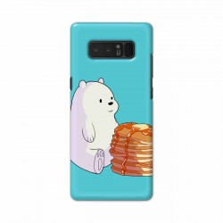 Buy Samsung Note 8 Bear and Pan Cakes Mobile Phone Covers Online at Craftingcrow.com