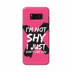 Buy Samsung S8 I am Not Shy Mobile Phone Covers Online at Craftingcrow.com