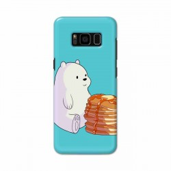 Buy Samsung S8 Plus Bear and Pan Cakes Mobile Phone Covers Online at Craftingcrow.com