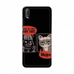 Buy Vivo V11 Not Coming to Dark Side Mobile Phone Covers Online at Craftingcrow.com