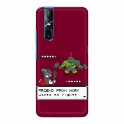Buy Vivo V15 Pro Friend From Work Mobile Phone Covers Online at Craftingcrow.com