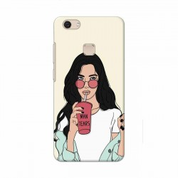 Buy Vivo V7 Plus Man Tears Mobile Phone Covers Online at Craftingcrow.com