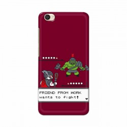 Buy Vivo Y55 Friend From Work Mobile Phone Covers Online at Craftingcrow.com