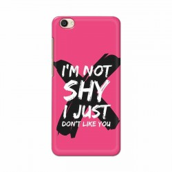 Buy Vivo Y55 I am Not Shy Mobile Phone Covers Online at Craftingcrow.com