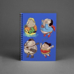 Big Super Heroes Notepad