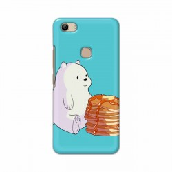 Buy Vivo Y81 Bear and Pan Cakes Mobile Phone Covers Online at Craftingcrow.com