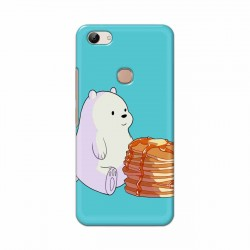 Buy Vivo Y83 Bear and Pan Cakes Mobile Phone Covers Online at Craftingcrow.com
