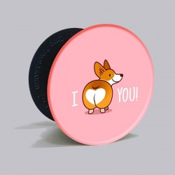 Buy Corgy I Love You Pop Grip Online at Craftingcrow.com