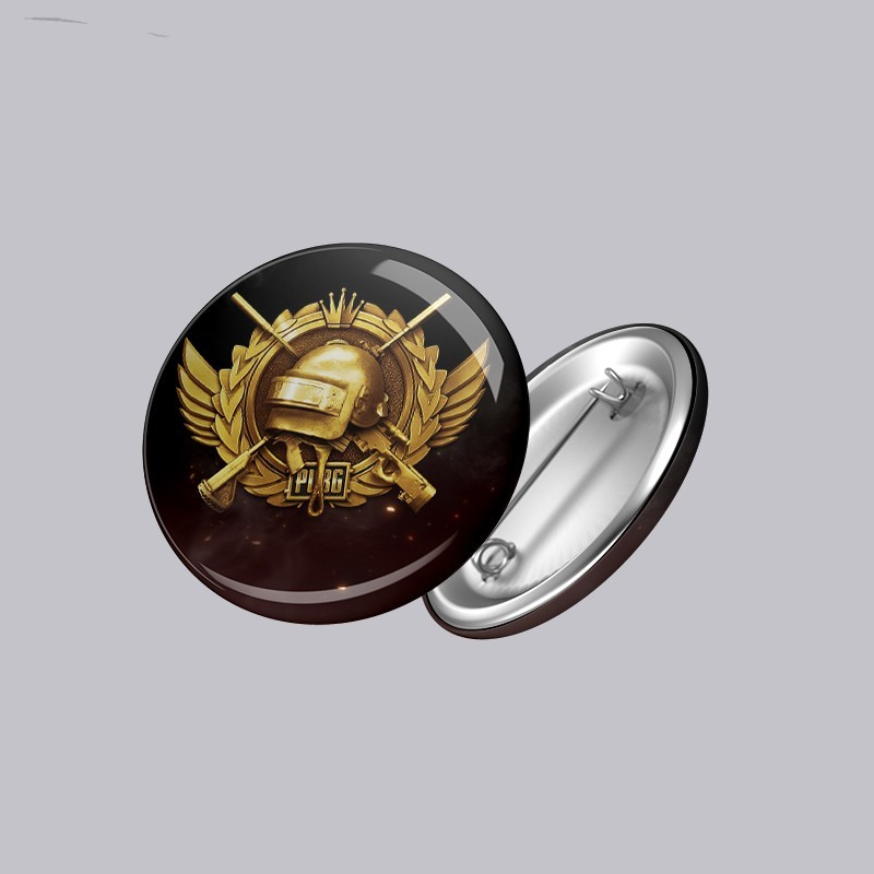 Buy PUBG Button Badge Online at Craftingcrow.com