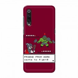Buy Xiaomi Mi 9 Friend From Work Mobile Phone Covers Online at Craftingcrow.com