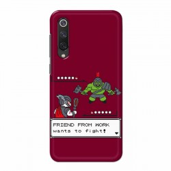 Buy Xiaomi Mi 9 SE Friend From Work Mobile Phone Covers Online at Craftingcrow.com