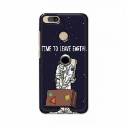 Buy Xiaomi Mi A1 Time to Leave Earth Mobile Phone Covers Online at Craftingcrow.com