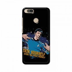 Buy Xiaomi Mi A1 Trek Yourslef Mobile Phone Covers Online at Craftingcrow.com