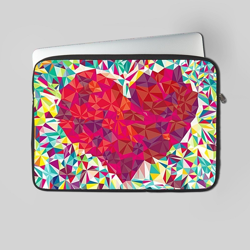 Buy Heart Laptop Sleeve Online at Craftingcrow.com