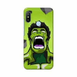 Buy Xiaomi Mi A2 Rage Hulk Mobile Phone Covers Online at Craftingcrow.com