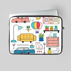 Buy City Art Laptop Sleeve Online at Craftingcrow.com
