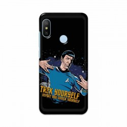 Buy Xiaomi Mi A2 Trek Yourslef Mobile Phone Covers Online at Craftingcrow.com
