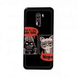 Buy Xiaomi Pocophone F1 Not Coming to Dark Side Mobile Phone Covers Online at Craftingcrow.com