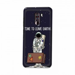 Buy Xiaomi Pocophone F1 Time to Leave Earth Mobile Phone Covers Online at Craftingcrow.com