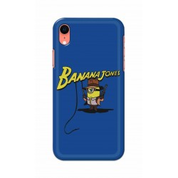 Crafting Crow Mobile Back Cover For Apple Iphone XR - Banana Jondes