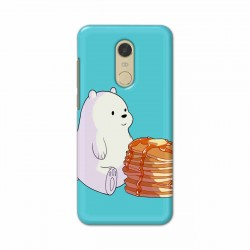 Buy Xiaomi Redmi Note 5 Bear and Pan Cakes Mobile Phone Covers Online at Craftingcrow.com
