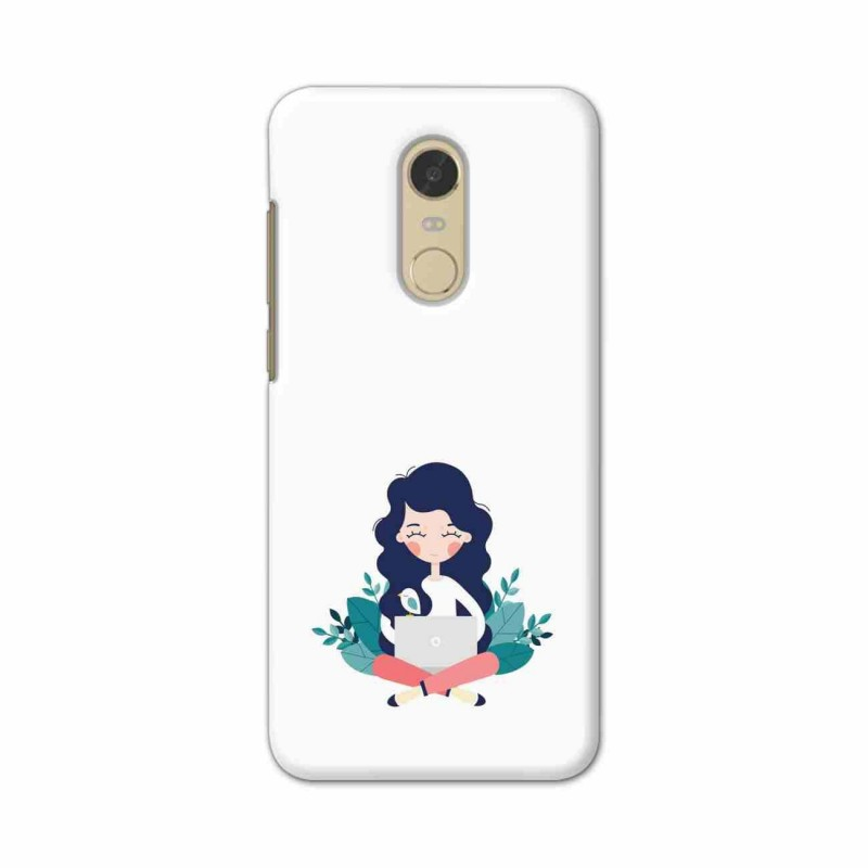 Buy Xiaomi Redmi Note 5 Busy Lady Mobile Phone Covers Online at Craftingcrow.com
