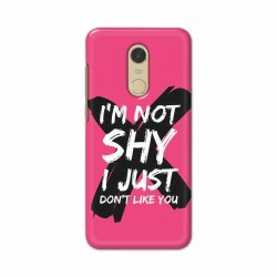 Buy Xiaomi Redmi Note 5 I am Not Shy Mobile Phone Covers Online at Craftingcrow.com