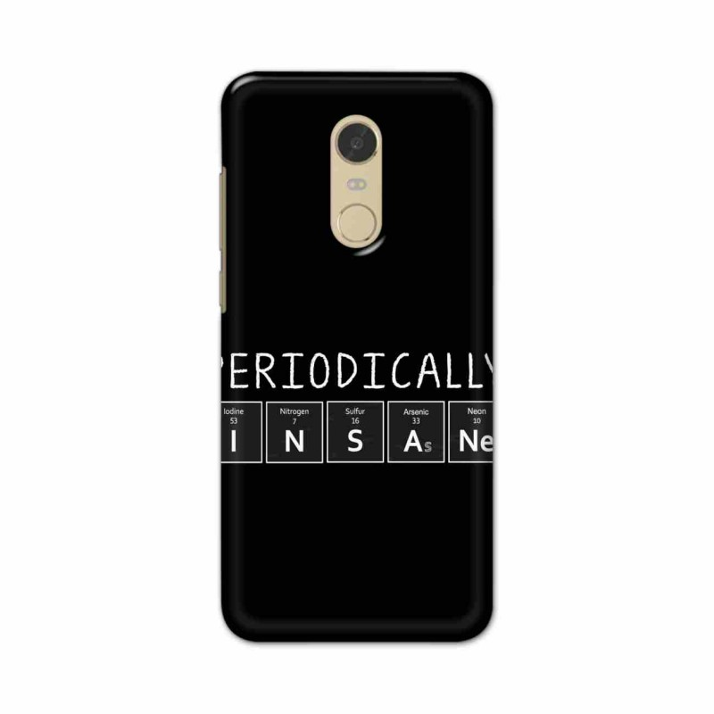 Buy Xiaomi Redmi Note 5 Periodically Insane Mobile Phone Covers Online at Craftingcrow.com