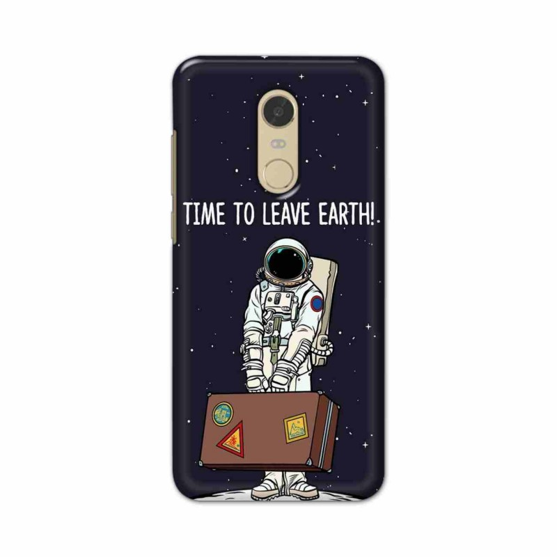 Buy Xiaomi Redmi Note 5 Time to Leave Earth Mobile Phone Covers Online at Craftingcrow.com